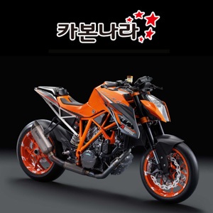 KTM 1290 SUPER DUKE R2014 Rear Hugger 오토바이 카본