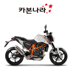 KTM DUKE 690 2012 Tail Fairing 오토바이 카본