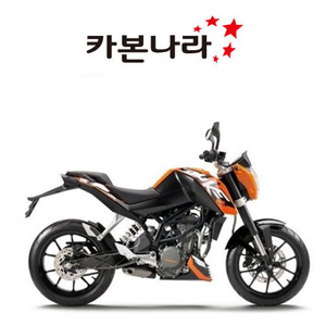 KTM DUKE 200/KTM DUKE 125 Chain Guard 오토바이 카본