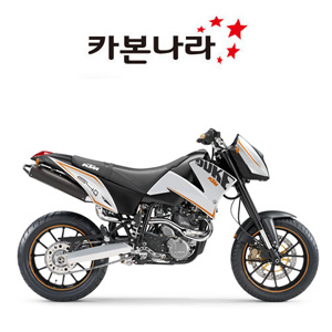 KTM DUKE 2 Chain Guard 오토바이 카본