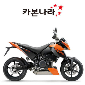 KTM DUKE 690 2008-2010 Rear Hugger 오토바이 카본