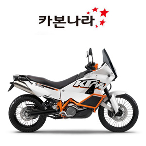 KTM 990 Superduke Side Fairings 오토바이 카본
