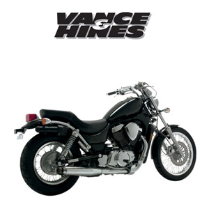 [반스&힌스 머플러]VANCE&HINCES/classics ii cruiser exhaust systems and slip-ons/bolt-ons/SUZUKI VS700/ 750/ 800 Intruder 87-04 [v19263]