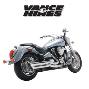 [반스&힌스 머플러]VANCE&HINCES/powershots/KAWASAKI VN2000 VULCAN 04-09 [1810-0217]