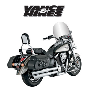 [반스&힌스 머플러]VANCE&HINCES/exhaust/big shots staggered/KAWASAKI VN1700 Vulcan 09-13 [1810-1970]
