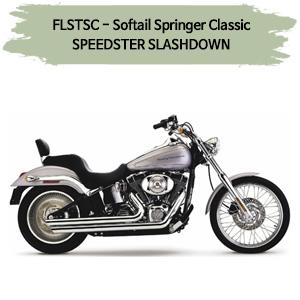 (2005-2006) SPEEDSTER SLASHDOWN 풀시스템 할리 머플러 코브라 소프테일 스프링거 클래식
