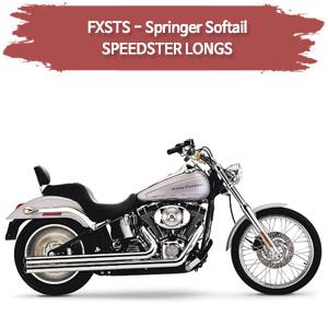 95-96,00-06 (LONGS) SPEEDSTER 풀시스템 할리 소프테일 스프링거 머플러 코브라