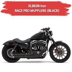 09-13 BLACK XL883N 아이언 SPEEDSTER SLASHDOWN (BLACK) 풀시스템 할리 머플러 코브라 스포스터