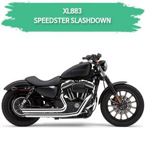 (07-08) FULL SYSTEM SPEEDSTER SLASHDOWN 할리 머플러 코브라 스포스터 XL883