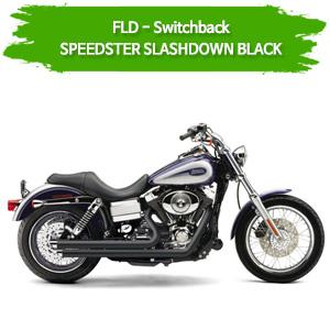 (12-16) 스피드스터 SLASHDOWN BLACK 코브라 다이나 스위치백 풀시스템 할리 머플러