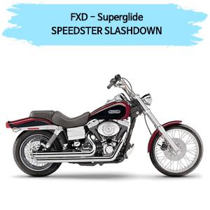 (06-10) 할리 머플러 코브라 SPEEDSTER SLASHDOWN 풀시스템 다이나 슈퍼 글라이드