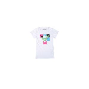 다이네즈 상의, 다이네즈 티셔츠 Dainese Andy Lady (White) - 여성용