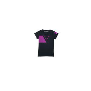 다이네즈 상의, 다이네즈 티셔츠 Dainese Fast Stripes Lady (Black) - 여성용