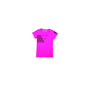 다이네즈 상의, 다이네즈 티셔츠 Dainese Fast Stripes Lady (Fuchsia) - 여성용