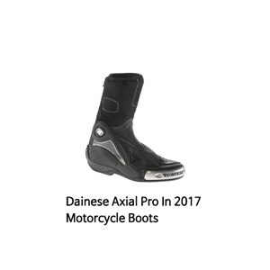 다이네즈 부츠 Dainese Axial Pro In 2017 Motorcycle Boots (Black)