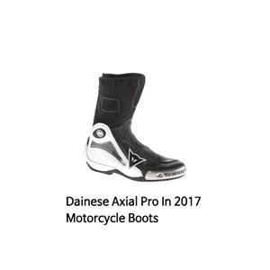 다이네즈 부츠 Dainese Axial Pro In 2017 Motorcycle Boots (White/Black)
