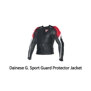 다이네즈 보호대 Dainese G. Sport Guard (Black/Red/White)