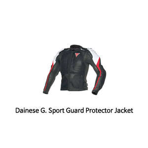 다이네즈 보호대 Dainese G. Sport Guard (Black/White/Red)
