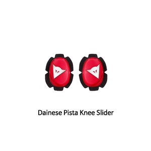 다이네즈 보호대 Dainese Pista Knee Slider (White/Red)
