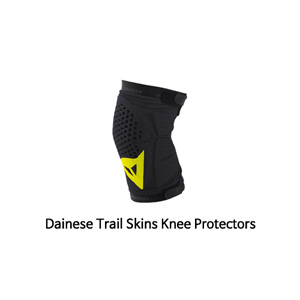다이네즈 보호대 Dainese Trail Skins Knee Protectors (Black/Yellow)
