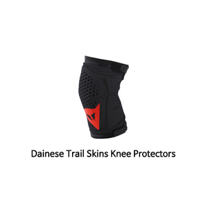 다이네즈 보호대 Dainese Trail Skins Knee Protectors (Black/Red)