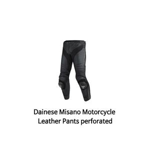 다이네즈 바지, 가죽 바지 Dainese Misano Motorcycle Leather Pants perforated (Black)