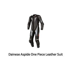 다이네즈 슈트 원피스 Dainese Aspide One Piece Leather Suit (Black/White)