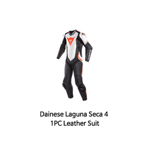 다이네즈 슈트 원피스 Dainese Laguna Seca 4 1PC Leather Suit (Black/White/Red)