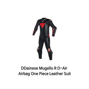 다이네즈 슈트 원피스 Dainese Mugello R D-Air Airbag One Piece Leather Suit (Black/Black/Red)