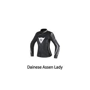 다이네즈 자켓, 가죽 자켓 Dainese Assen Lady (Black/White) - 여성용