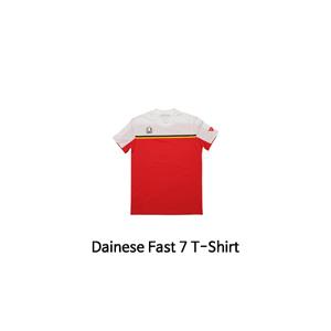 다이네즈 상의, 다이네즈 티셔츠 Dainese Fast 7 T-Shirt (White/Red)