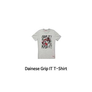 다이네즈 상의, 다이네즈 티셔츠 Dainese Grip IT T-Shirt (Grey)