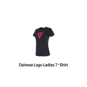 다이네즈 상의, 다이네즈 티셔츠 Dainese Logo Ladies T-Shirt (Black/Red)