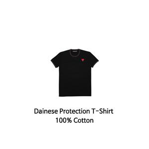 다이네즈 상의, 다이네즈 티셔츠 Dainese Protection T-Shirt 100% Cotton (Black)