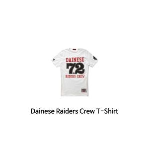 다이네즈 상의, 다이네즈 티셔츠 Dainese Raiders Crew T-Shirt (White)
