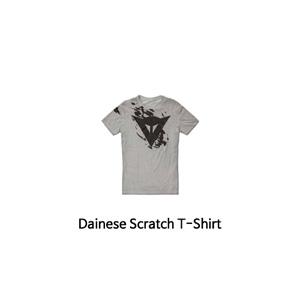 다이네즈 상의, 다이네즈 티셔츠 Dainese Scratch T-Shirt (Grey)