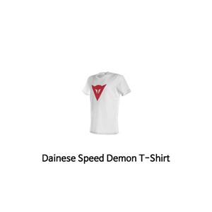 다이네즈 상의, 다이네즈 티셔츠 Dainese Speed Demon T-Shirt (White/Red)