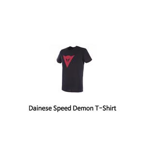 다이네즈 상의, 다이네즈 티셔츠 Dainese Speed Demon T-Shirt (Black/Red)