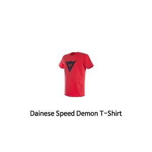 다이네즈 상의, 다이네즈 티셔츠 Dainese Speed Demon T-Shirt (Red/Black)