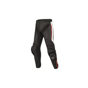 다이네즈 바지, 가죽 바지 Dainese Misano Motorcycle Leather Pants (Black/White/Red)