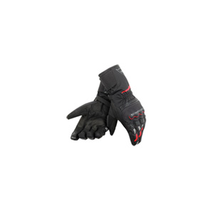 다이네즈 장갑 Dainese Tempest Unisex D-Dry Long Motorcycle Gloves (Black/Red) - 남성,여성용