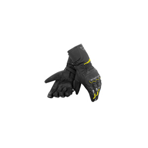 다이네즈 장갑 Dainese Tempest Unisex D-Dry Long Motorcycle Gloves (Black/Yellow) - 남성,여성용