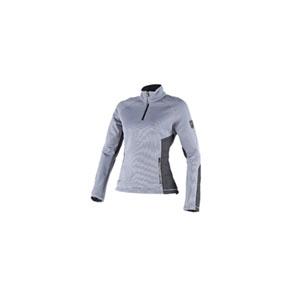 다이네즈 상의, 다이네즈 티셔츠 Dainese Siria Sweater Lady (Grey/Black) - 여성용