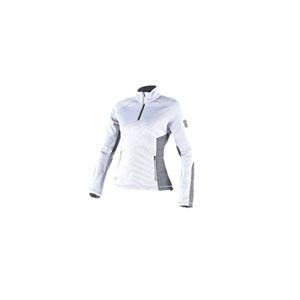 다이네즈 상의, 다이네즈 티셔츠 Dainese Siria Sweater Lady (White/Grey) - 여성용