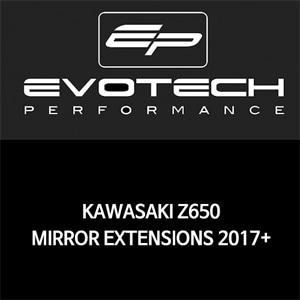 가와사키 Z650 MIRROR EXTENSIONS 2017+ 에보텍
