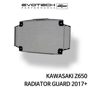 가와사키 Z650 라지에다가드 2017+ 에보텍