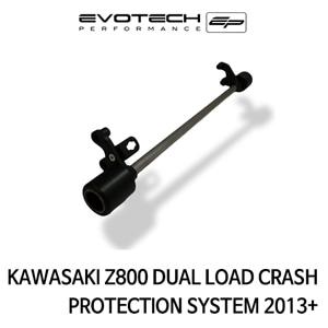 가와사키 Z800 DUAL LOAD 프레임슬라이더 SYSTEM 2013+ 에보텍