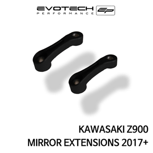 가와사키 Z900 MIRROR EXTENSIONS 2017+ 에보텍
