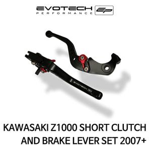 가와사키 Z1000 숏클러치브레이크레버세트 2007+ 에보텍