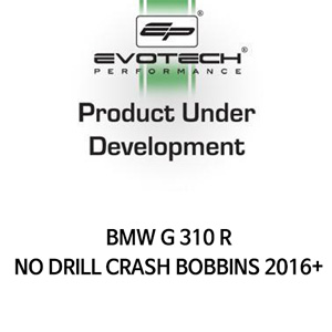 BMW G310R NO DRILL CRASH BOBBINS 2016+ 에보텍